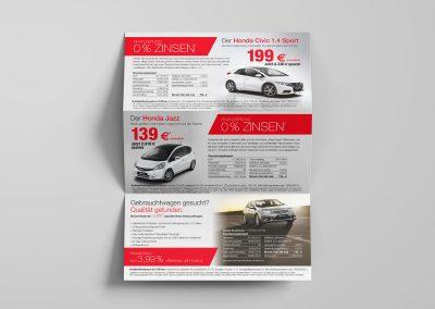 Finanzierungsmailing Honda